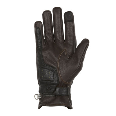 Helstons Mora Brown/Black/Beige Leather Summer Glove