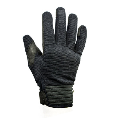 Helstons Simple Black Summer Glove