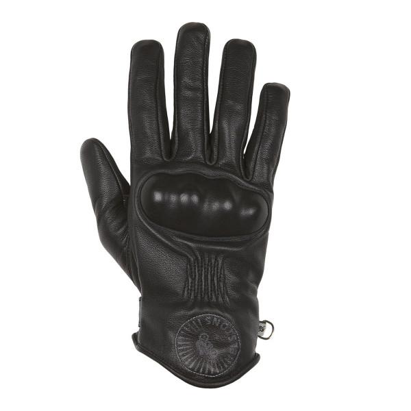 Helstons Sun Black Summer Gloves