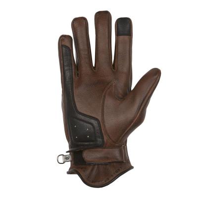 Helstons Sun Camel/Black Summer Glove