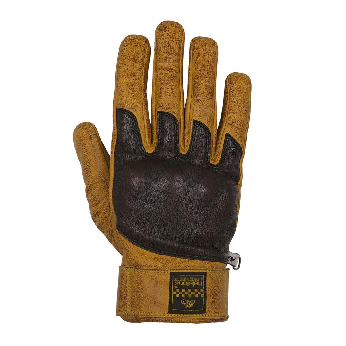 Helstons Wolf Gold/Brown Summer Glove