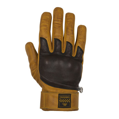 Helstons Wolf Gold/Brown Summer Gloves