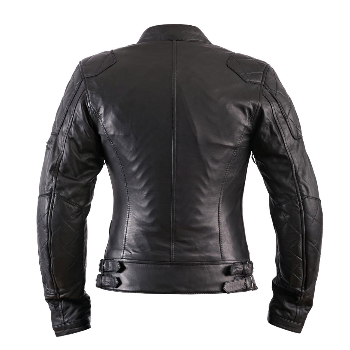 Helstons Ladies  KS70 Black Leather Jacket