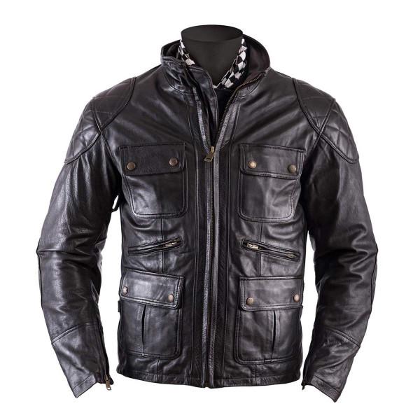 Helstons Hunt Brown Leather Jacket