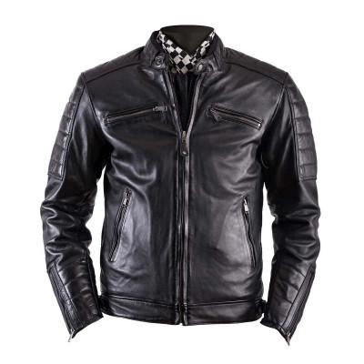 Helstons Cruiser Black Leather Jacket