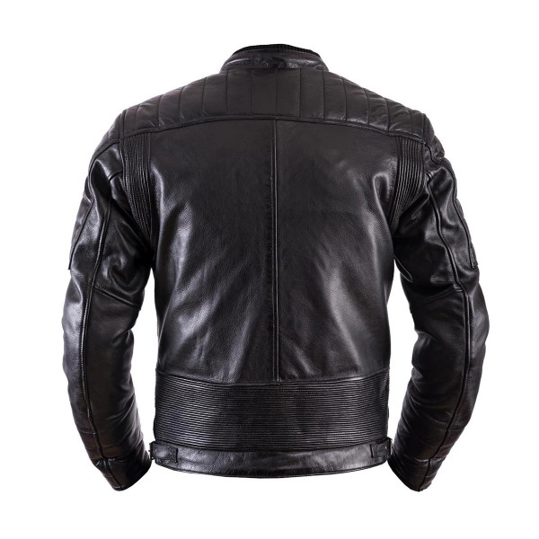 Helstons Cruiser Black Leather Jacket
