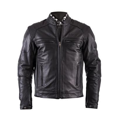 Helstons Trust Black Leather Jacket