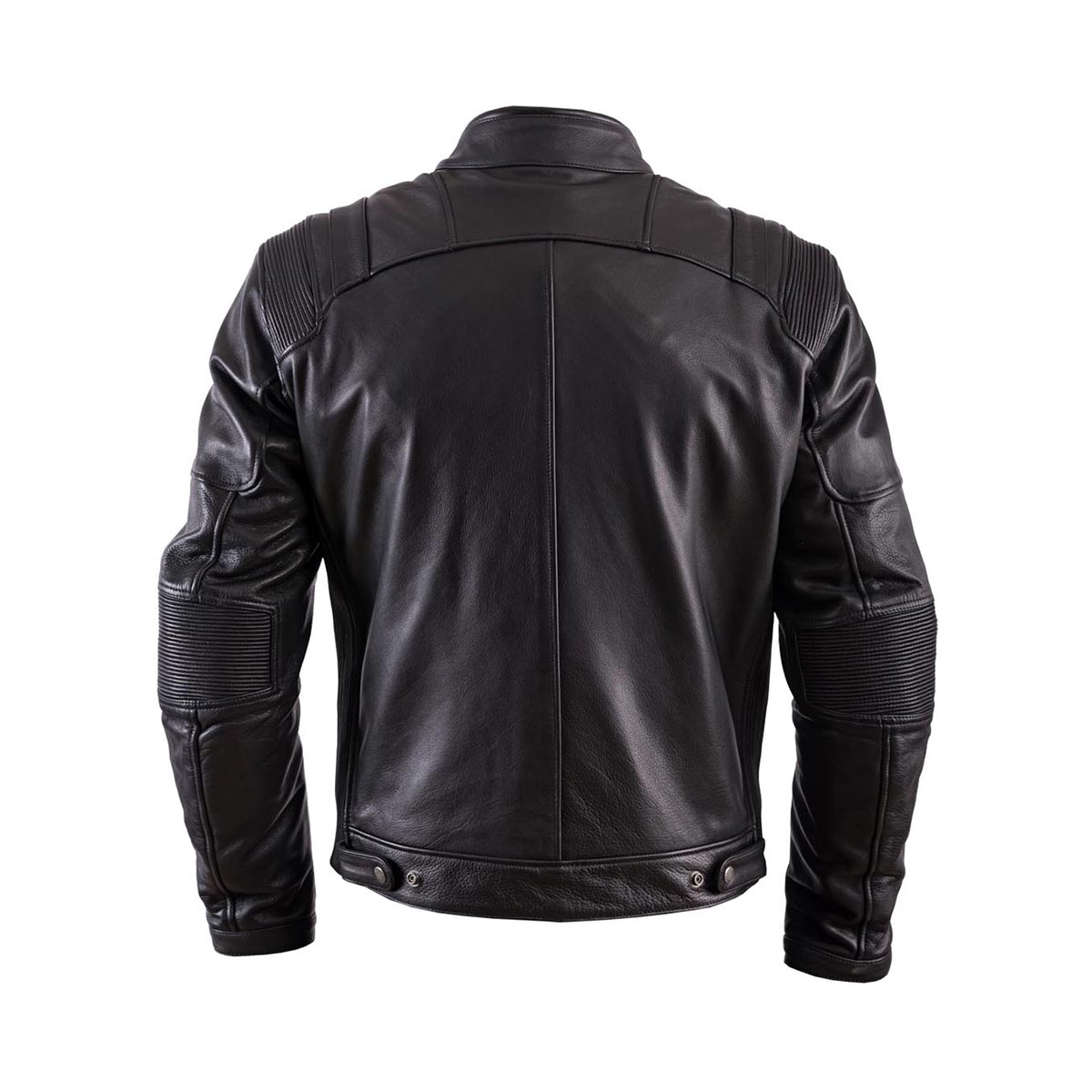 Helstons Trust Black Leather Jacket