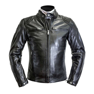 Helstons Modelo Black Leather Jacket