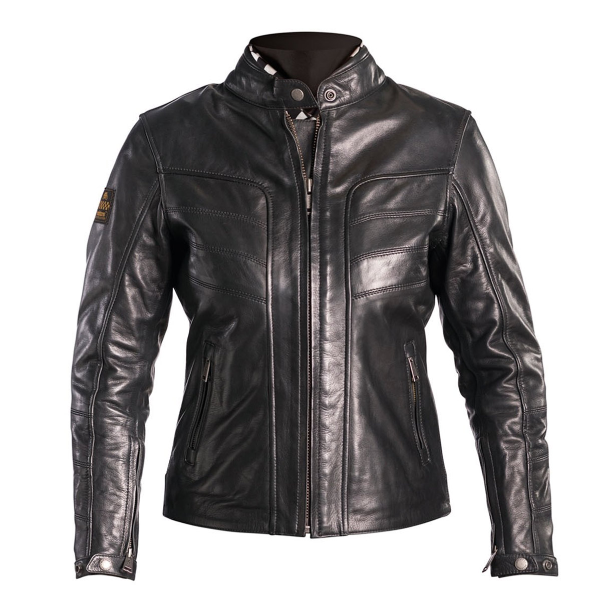 Helstons Ladies Sarah Black Leather Jacket