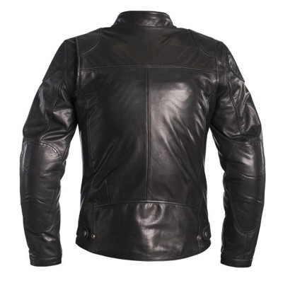 Helstons Road Black Leather Jacket