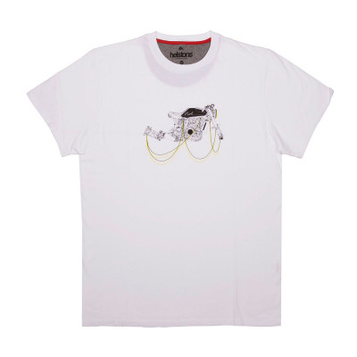 Helstons Motorcycle T-Shirt White