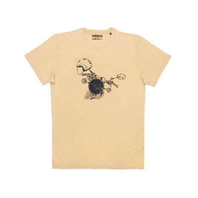 Helstons Headlight T-Shirt Yellow