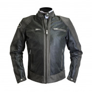 Helstons Modelo Mesh Brown Textile Jacket