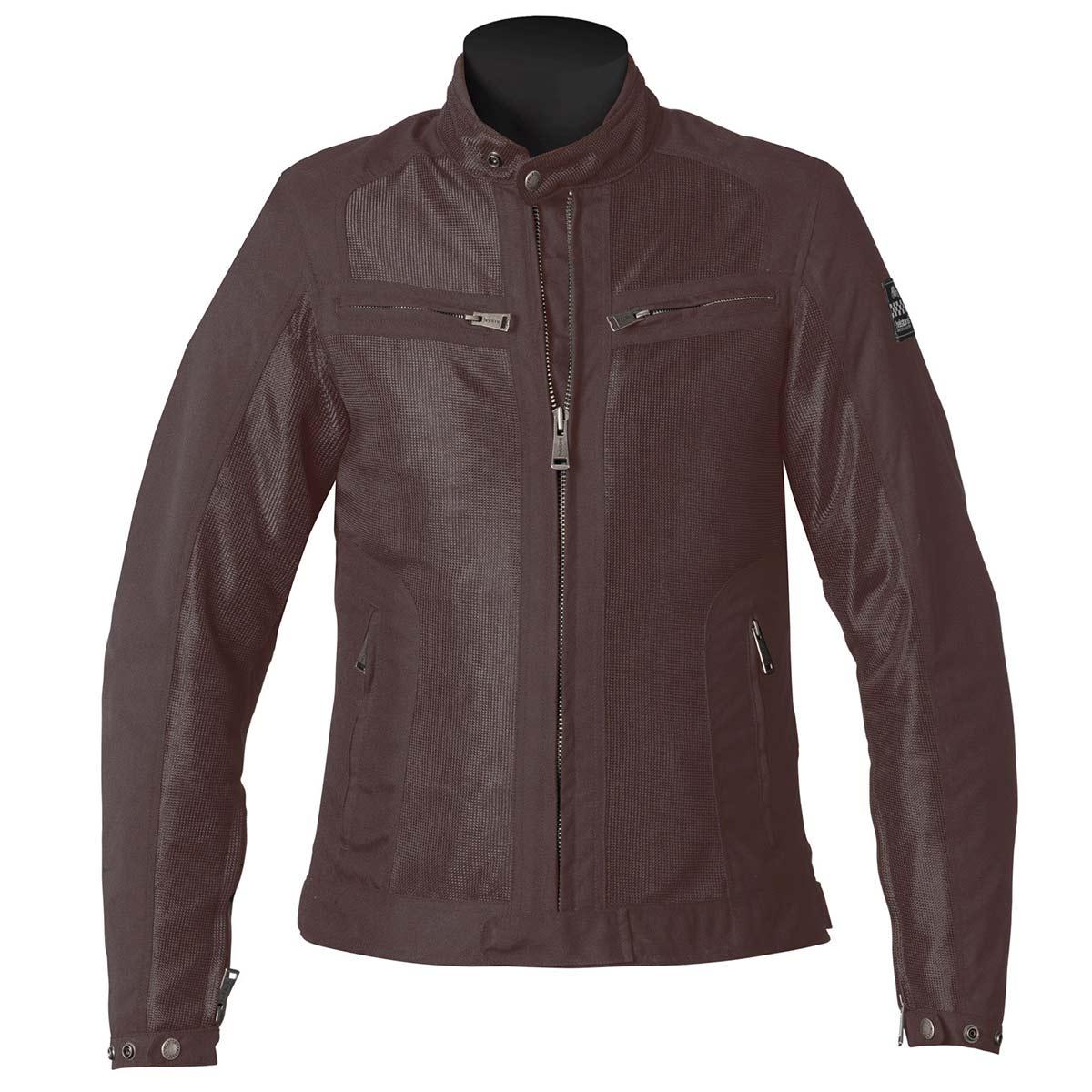 Helstons Spring Mesh Womens Jacket - Brown