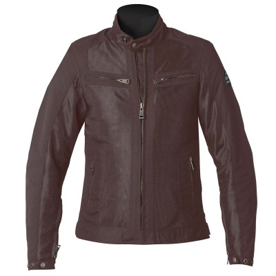 Helstons Spring Mesh Womens Jacket - Brown