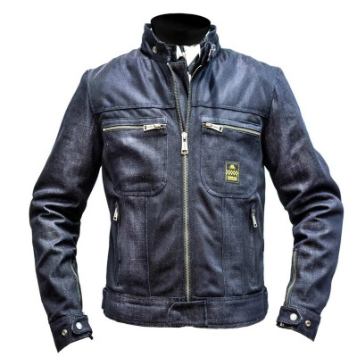 Helstons Ladies Genesis Girl Blue Mesh Textile Jacket