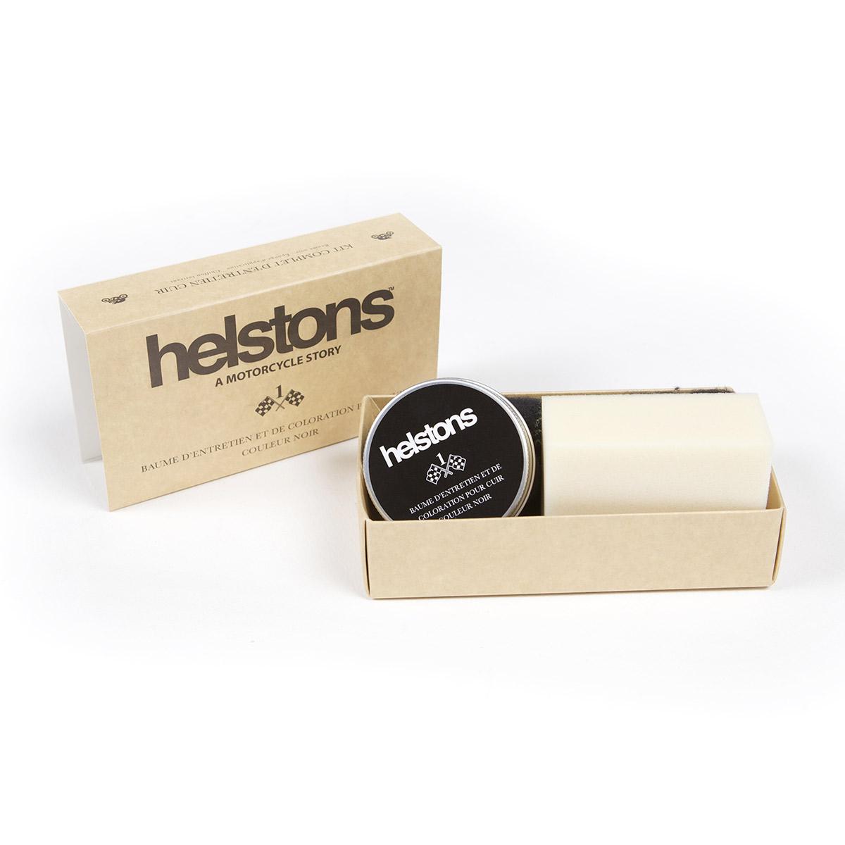 Helstons Leather Treatment Kit Black