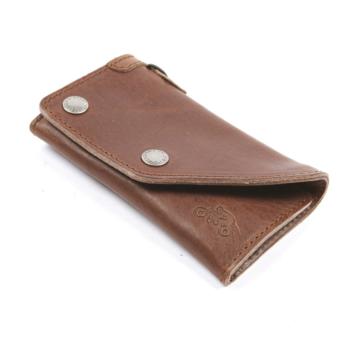 Helstons Leather Wallet - Brown