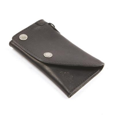 Helstons Leather Wallet - Black