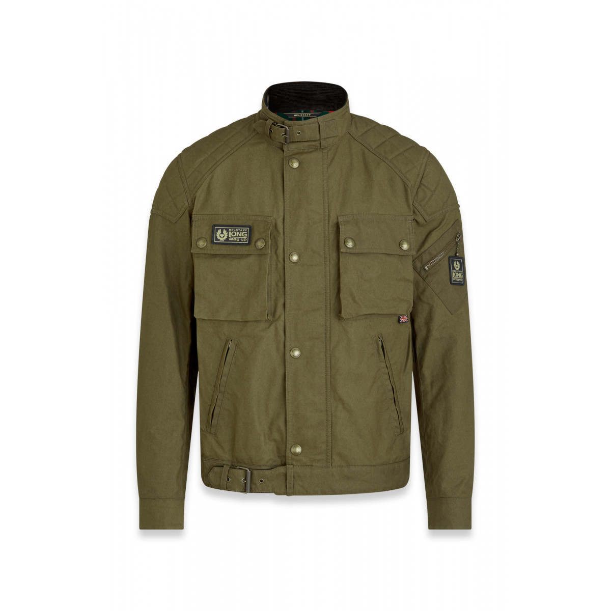 Belstaff Long Way Up Blouson Salvia