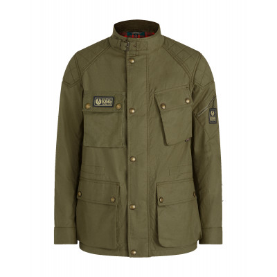 Belstaff Long Way Up Field Jacket Salvia