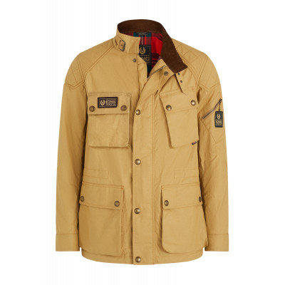 Belstaff Long Way Up Field Jacket Khaki