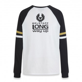 Belstaff Long Way Up Raglan Motorcycle L/S T-Shirt