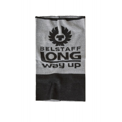 Belstaff Long Way Up Neck Warmer Light & Dark Grey