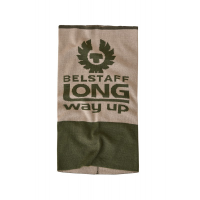 Belstaff Long Way Up Neck Warmer Olivine & Putty