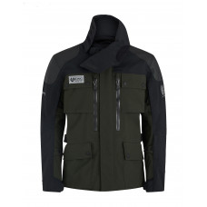 Belstaff Long Way Up Dark Olive Black Jacket