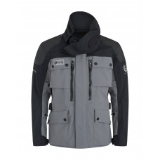 Belstaff Long Way Up Light Grey Black Jacket
