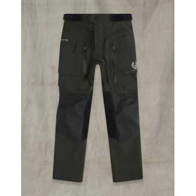 Belstaff Long Way Up Dark Olive Black Trousers