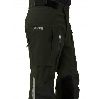 Belstaff Long Way Up Dark Olive Black Trousers