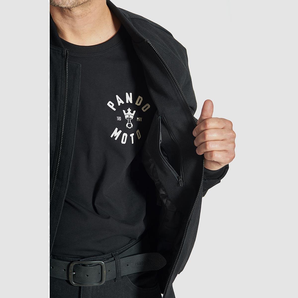 Pando Moto Bomber Cor 01 Jacket