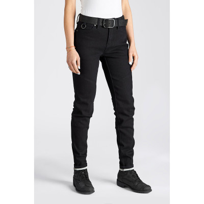 Pando Moto Kissaki Black Womens Jeans