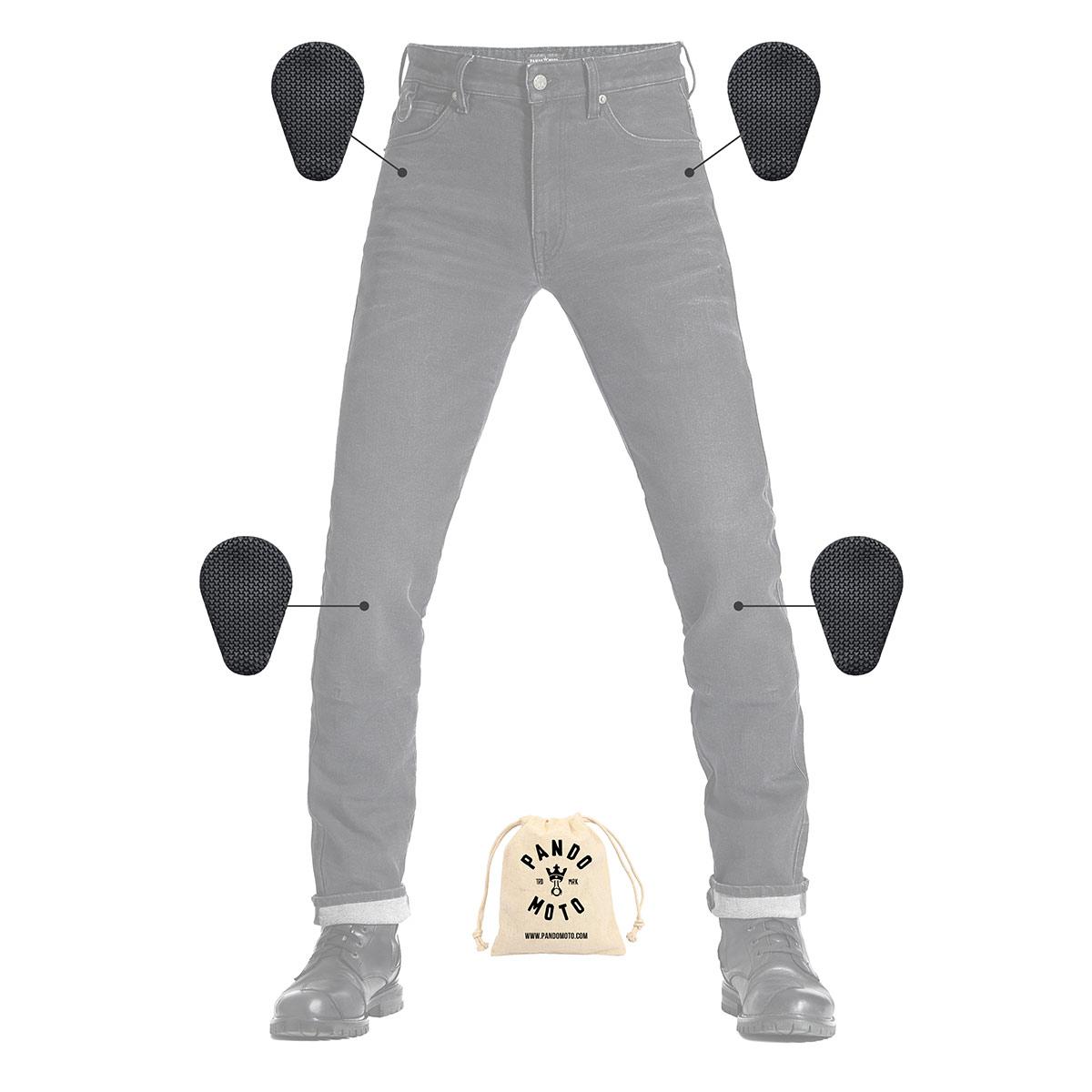 Pando Moto Robby Arm 01 Men's Jeans