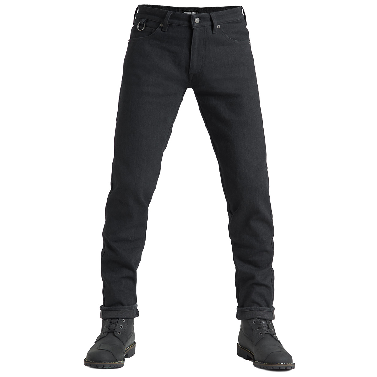 Pando Moto Steel Black 02 Men's Jeans
