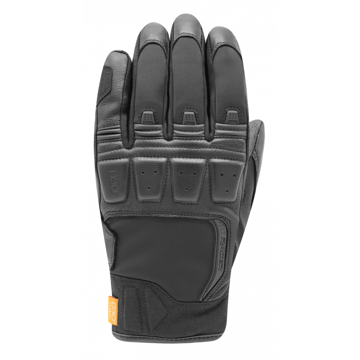 Racer Ronin Winter Gloves - Black