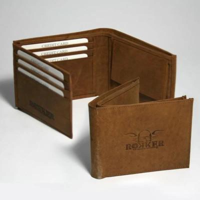 Rokker Traveller Wallet Brown