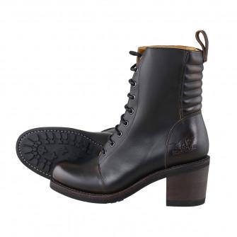 Rokker Ladies Speedway Boots Antique Black