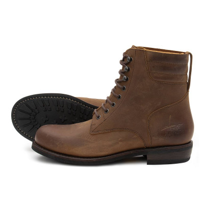 Rokker Mens Urban Racer Boot - Dark Brown