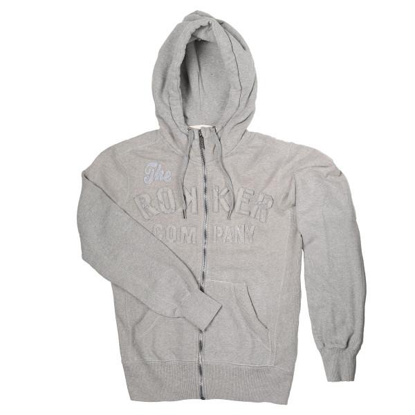 Rokker TRC Hoodie Light Grey