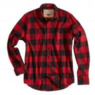 Rokker Denver Check Shirt Red