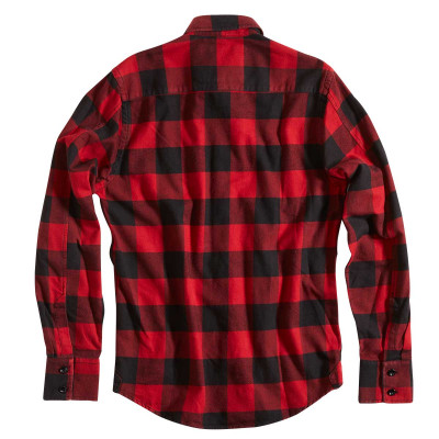 Rokker Denver Check Shirt Red