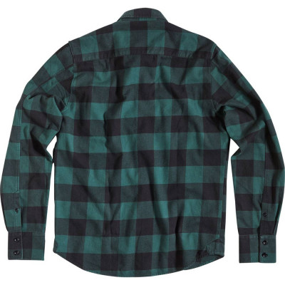 Rokker Denver Check Shirt Green