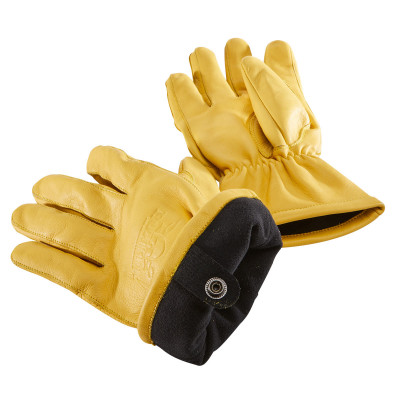 Rokker California Insulated Gloves Natural Yellow