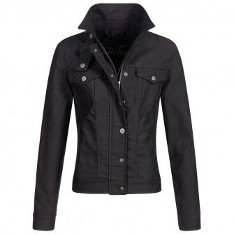 Rokker Black Jacket Lady Short