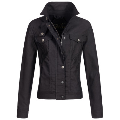 Rokker Black Jacket Lady Short