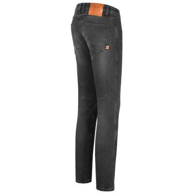 Rokker Rokkertech Tapered Slim Jeans Black